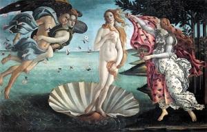 Sandro Botticelli's Birth of Venus, c. 1486