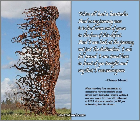 Diana-Nyad-quote-picture-metal-sculpture-woman