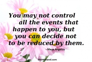 Maya Angelou quote about surviving abuse.