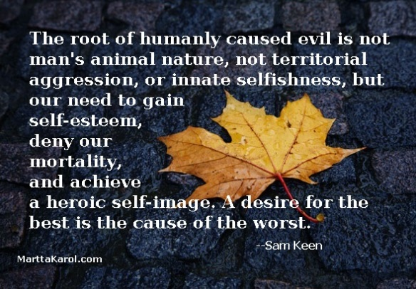 quote-sam-keen-the-root-of-humanly-caused-evil-on-image-autumn-leaf-on-bricks-